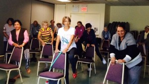 Chair Yoga at our Kew Gardens Center