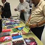 Lots of books to chose from at the Desi Senior Center