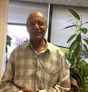 Benjamin Samson, a member of India Home at Kew Gardens Queens Community House
