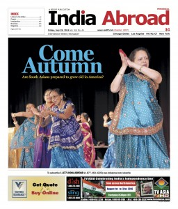 India Abroad is the oldest paper aimed at the Indian Diaspora in America