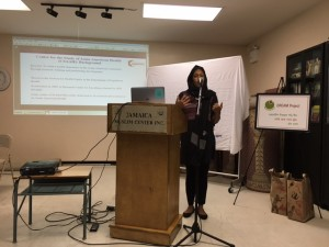 Dr. Nadia Islam, PhD, the Deputy Director and co-investigator of the Center for the Study of Asian American Health presents findings on the DREAM Project.