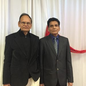 Bharat Patel (left) and Dinesh Parmar (right)