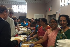 Usha Foods catered the delicious lunch