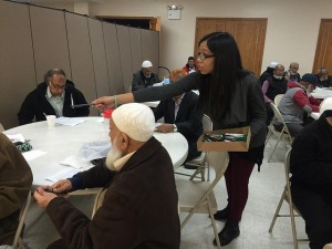 India Home's seniors joined a letter writing campaign to urge Governor Cuomo to restore TitleXX funds for senior center programs