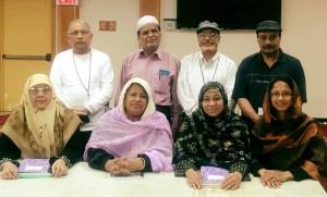 Members of the Writing Workshop at the Desi Senior Center
